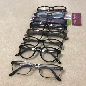 8 Pairs LOT 1.00-3.50 readers Foster Grant unisex